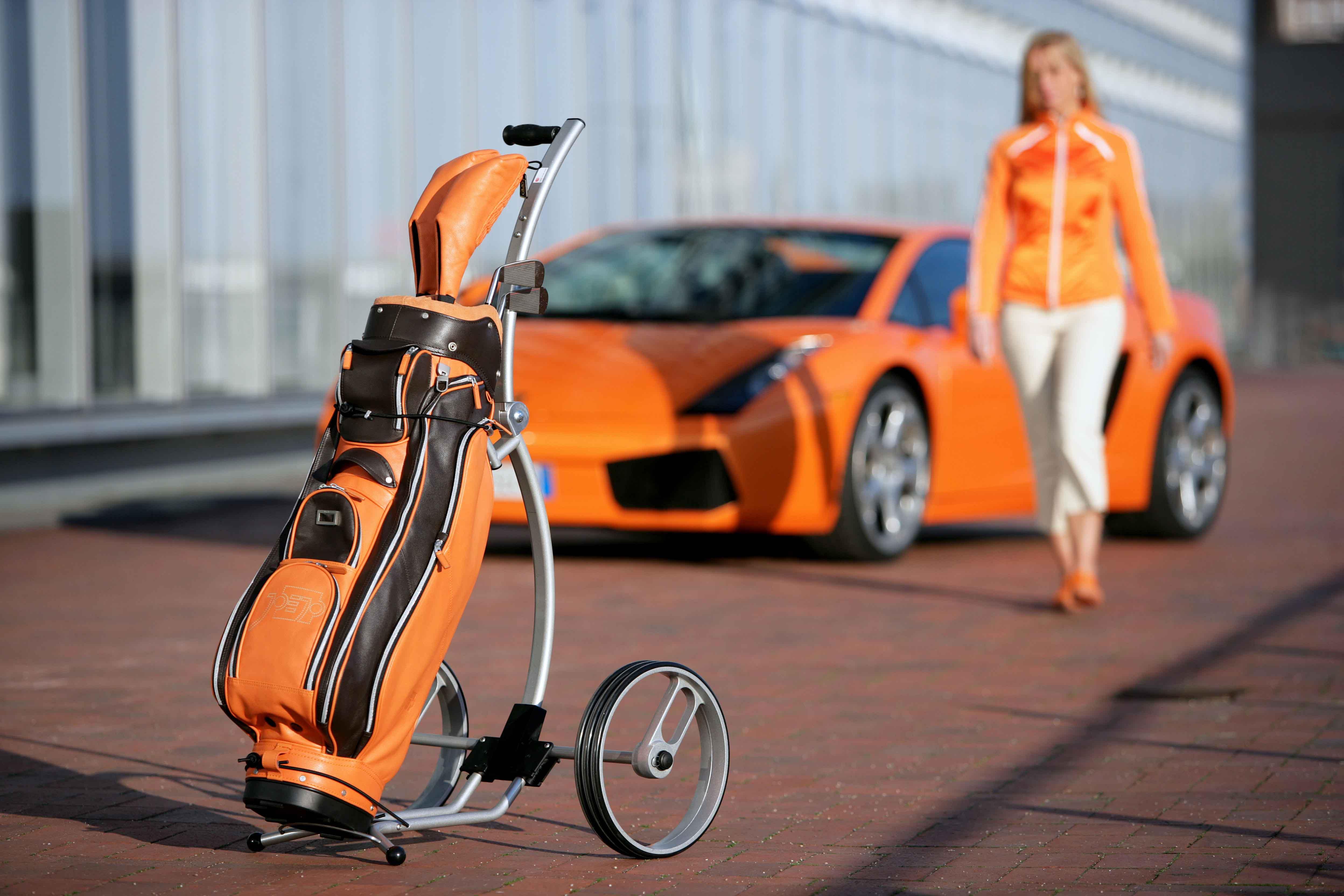 Der erste Trolley für einen Lamborghini