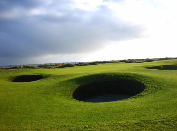 In Deutschland gibt es im Norden einige Links Golf Plätze
