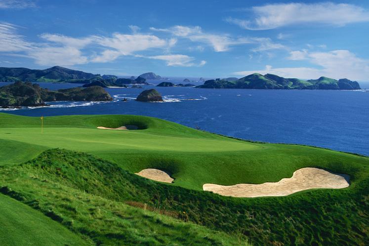 Eines der weltweit schönsten Golfresorts: Kauri Cliff, Neuseeland