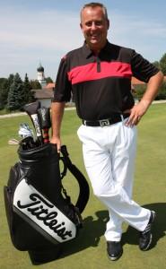 Golflehrer Mark Bray
