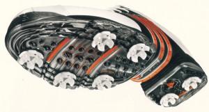 adidas Golfschuh 360II gewann reddot-Design, Foto: adidas