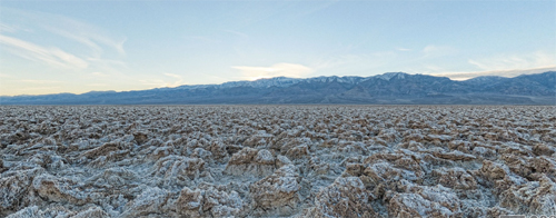 Der größte Golf Flop: Devils Golf Course im Death Valley