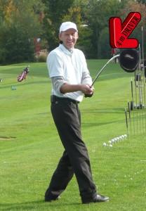 PGA-Pro und Trick-Golf-Künstler Karsten Maas