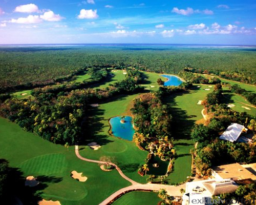 Lucayan Course von Dick Wilson, Foto: Bahamas Tourist Office