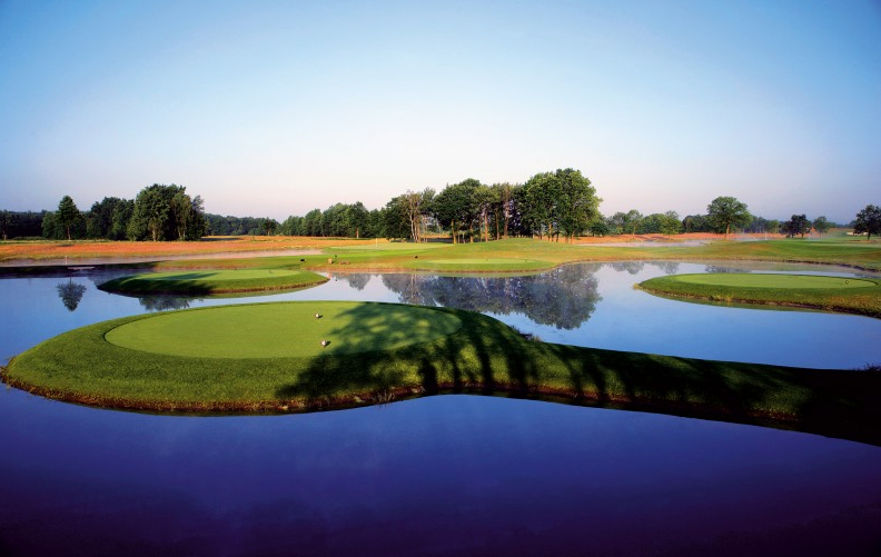 Schwerster Golfplatz Deutschlands: Nordkurs Green Eagle, Foto: Goflanlage GreenEagle Golf Hamburg