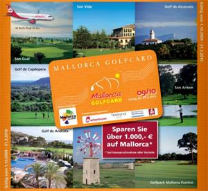 Mallorca-Golfcard