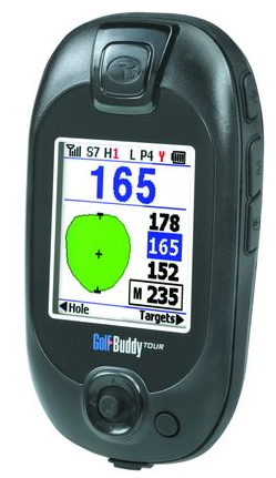 """Wie weit ist ..? GPS-Gadget """"Golf Buddy"""" auf der Golfrunde"""