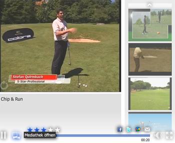Der richtige Schlag bei kniffligen Ball-Lagen: Problemschläge beim Golf