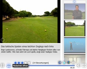 Spezialschläge beim Golf: Langer Draw