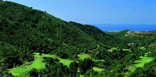 Anspruchsvoller Golfplatz in den spanischen Bergen: Monte Mayor Golf Club