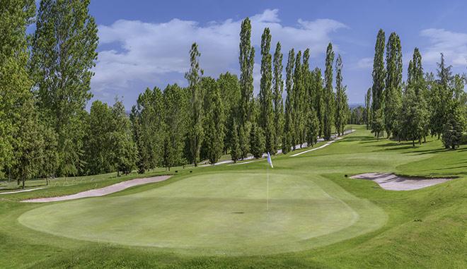 Der Golf Club Bologna liegt in einem Hügelgebiet mit atemberaubendem Ausblick. Foto: Raffaele Canepa.