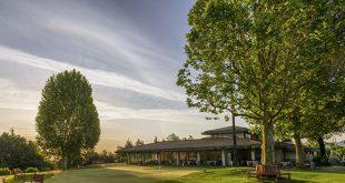 Blick auf das Clubhaus des Golf Club Bologna. Foto: Raffaele Canepa
