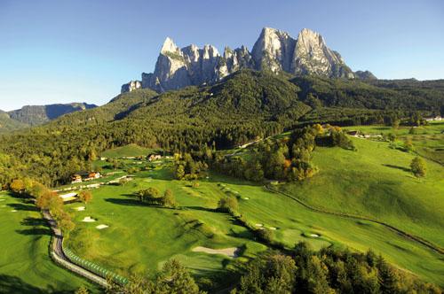 Jüngster und sportlichster 18-Loch-Golfplatz in Südtirol: Golf Club Kastelruth