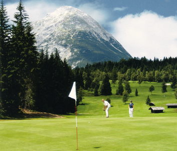 Juwel unter alpinen Plätzen und Leading Golf Course Österreich: Golfplatz Seefeld-Wildmoos