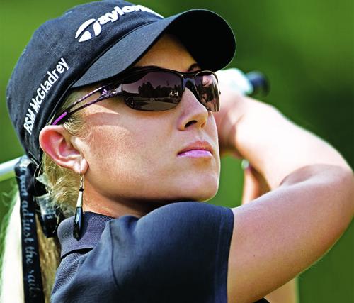 Die perfekte Golfer-Sonnenbrille: Natalie Gulbis und Justin Rose tragen adidas eyewear