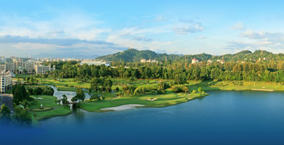 Golfcourse Nr. 1 in Malaysia: MINES Resort & Golf Club mit PGA-Turnier