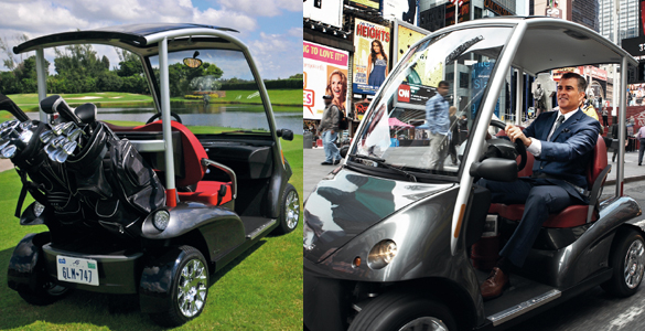 golfcart auf dem genfer automobilsalon garia hat jetzt. Black Bedroom Furniture Sets. Home Design Ideas