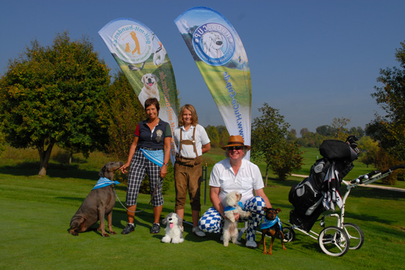 Golfen mit Hund: 2012 geht der HuGo-Cup in die dritte Saison