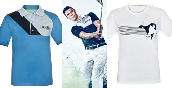 Golfmode 2012: Martin Kaymer zeigt erste Kollektionsteile