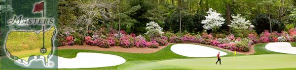 Alljährlich startet die Golf Major Serie mit dem Masters Augusta