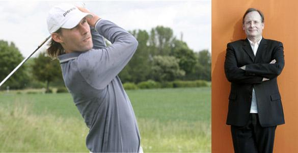 Charity-Golfturnier Juni 2012: Professor Grönemeyer und Golfpro Tino Schuster laden nach Bad Griesbach