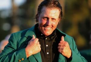 Phil Mickelson auf dem Weg zum 4. Green Jacket ?