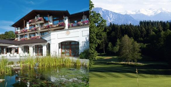 Alpen-Golf-Woche: Bayerisches Hideaway lädt zum Golfplatz-Hopping