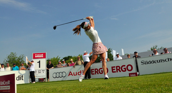 UniCredit Ladies German Open: Ergebnisse erster Turniertag