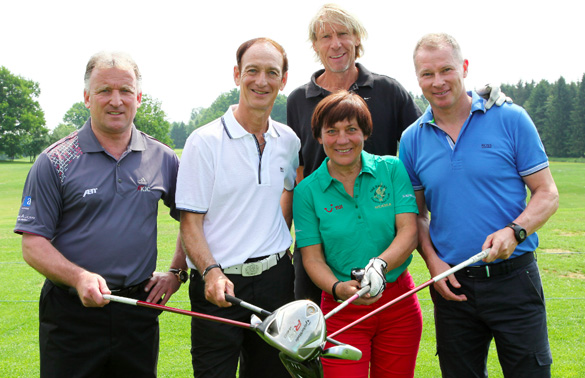 Voltaren-Cup mit Eagles-Charity-Golfclub-Connection