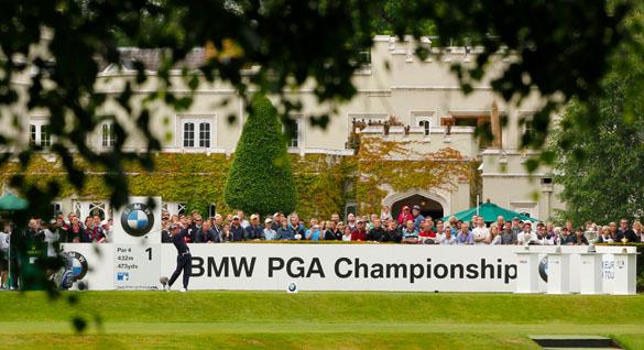 BMW PGA Championship 2012: Fuball-Stars und Golf-Millionäre