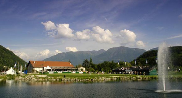 Jüngste der Tessiner Golfplätze: Golf Gerre Losone mit den letzten DBLSO (Deutsche Bank Ladies Swiss Open)