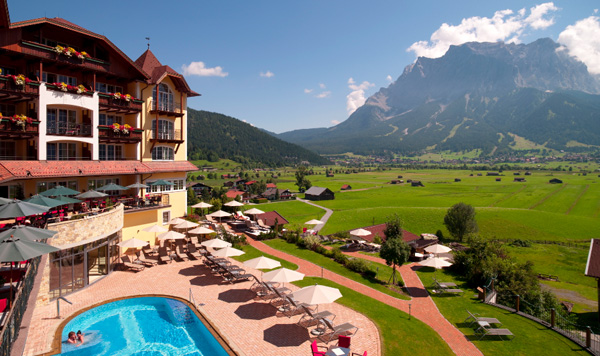 Hotel Post Lermoos: Alpiner Golf-Luxus