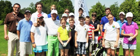 Berenberg Bank Masters 2012 in München: Gary Player war der Star bei den Kids