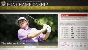 Live Stream PGA Championship - letzte Major Golf Turnier 2012