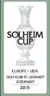 Solheim Cup 2015: Deutschland mit GC St. Leon-Rot hat den Zuschlag