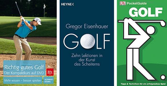 Last Minute Geschenke für Golfer: So viele gute Golfbücher gab es noch nie