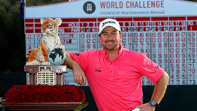 Graeme McDowell gewinnt Tiger Woods World Challenge im Sherwood Country Club
