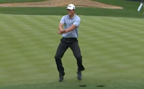 Gangnam Style auf dem Grün: Golfprofi neuer YouTube-Star