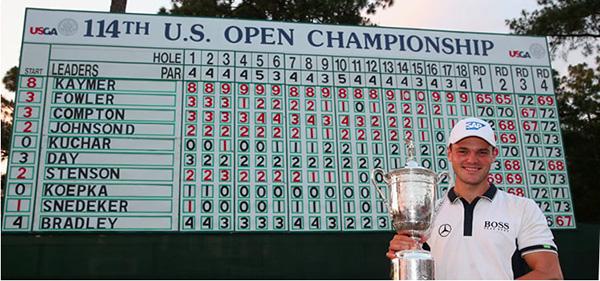 Martin Kaymer gewinnt mit US Open sein 2. Major