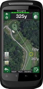 Golfplatz-Apps auf Smartphones: Problemlos in Privatrunden, bei Turnieren definitiv verboten - Photocredits: Senygma, HTC
