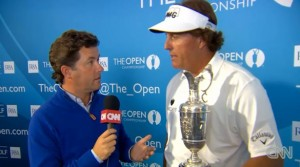 Phil Mickelson im CNN-Interview: Video!