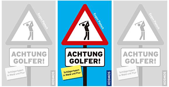 Schlägertypen auf den Punkt gebracht von Eugen Pletsch - Photocredit: Kosmos Verlag
