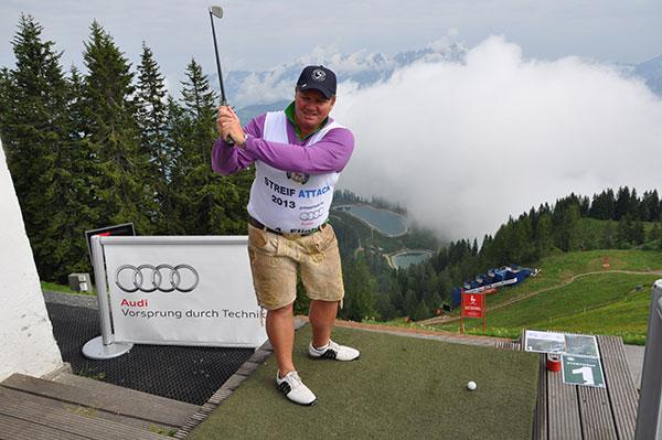 Streif Attack: Das wahrscheinlich coolste & steilste Golfturnier der Welt