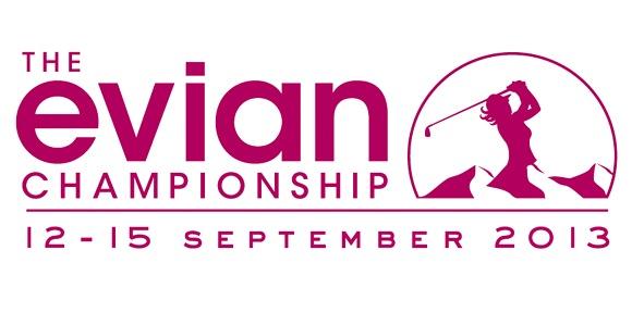 Das neue Turnierlogo der Evian Championship