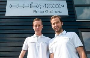 Philipp Ryfisch (li.) und Andreas Nottebaum (re.) vor ihrer Fittingbasis