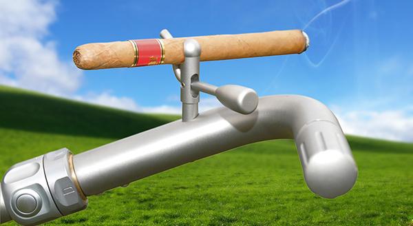 Perfekt für Golfer, die wie Miguel Ángel Jiménez mit Genuss-Zigarre gelegentlich auf den Platz gehen wollen