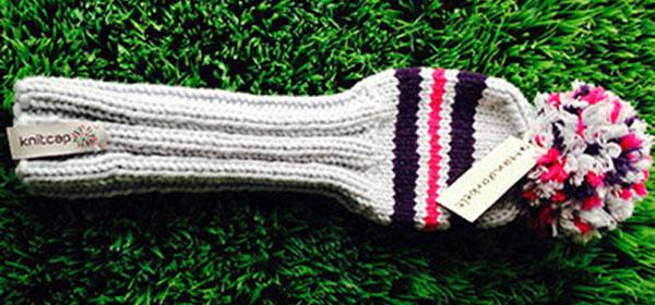 Golfschlägerhauben aus Bayern: Handgestrickte Knitcaps