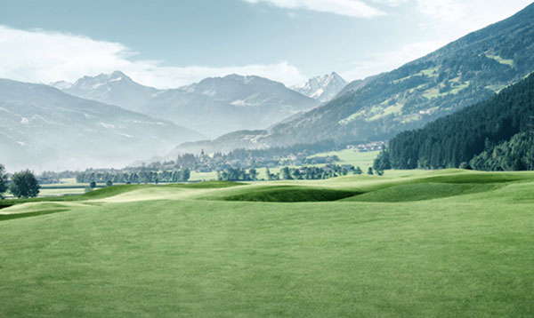 Neuer Golfplatz im Zillertal: GC Zillertal Uderns mit Diamant-Loch