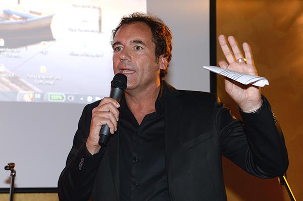 Thomi Ohrner moderierte die Abendveranstaltung