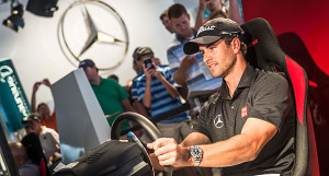 Adam Scott: Ist er der Favorit am AMG Racing Simulator?